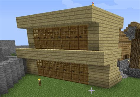 Floor Plan Of A House by Minecraft What Is The Most Efficient Village Housing