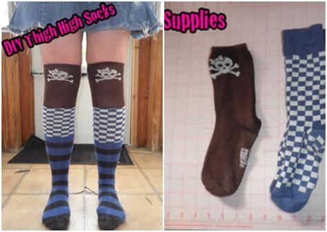 diy with socks thigh high 9 sweet and adorable diy socks diy