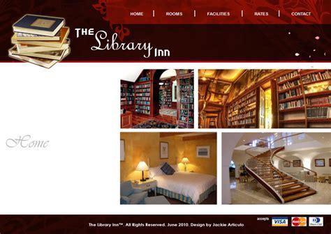 html design library web design the library inn by sakijane on deviantart