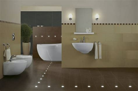 bathroom floor lighting ground recessed led lighting modern ideas one decor