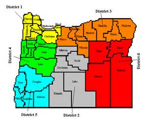 oregon school districts map oregon ares district 5