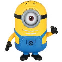 despicable talking minion carl action figure toys amp