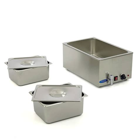 Maxima Bain Marie with Tap including 2 x 1/1 GN Set