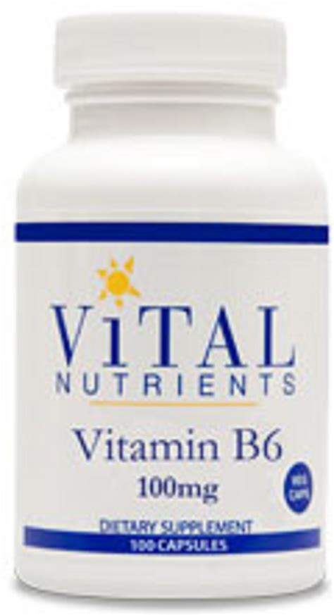 supplement b 6 vital nutrients vitamin b6 dietary supplement