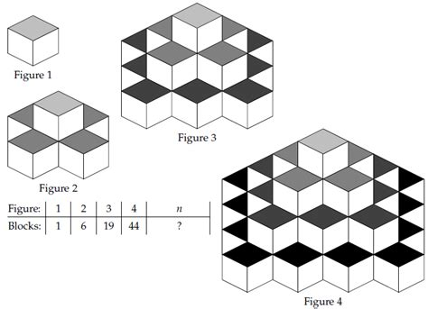 pattern of geometric sequence arithmetic progression patterns and designs www imgkid