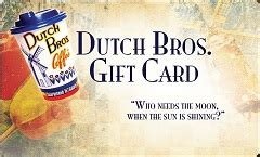 Dutch Bros Gift Card Balance Check - check dutch brothers coffee gift card balance online giftcardbalancechecks com