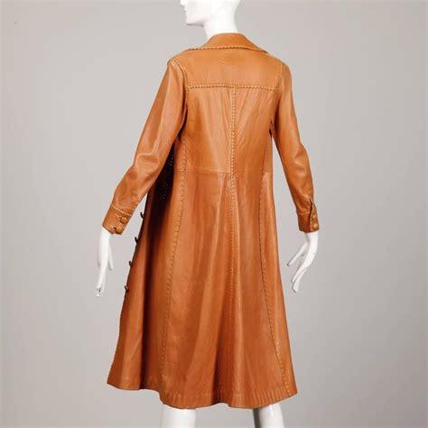 Handmade Coat - 1970s pieles pitic leather vintage handmade