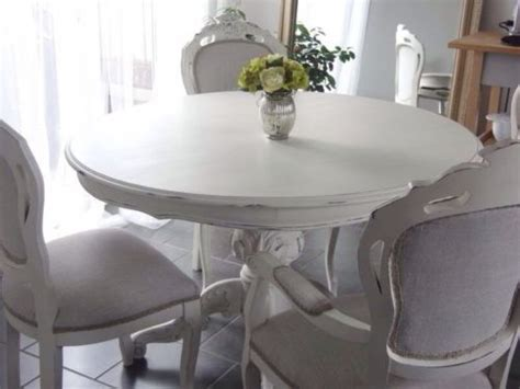 shabby chic dining room table top 50 shabby chic round dining table and chairs home