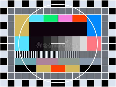 tv test pattern stock images royalty free images tv transmission test card royalty free stock image image