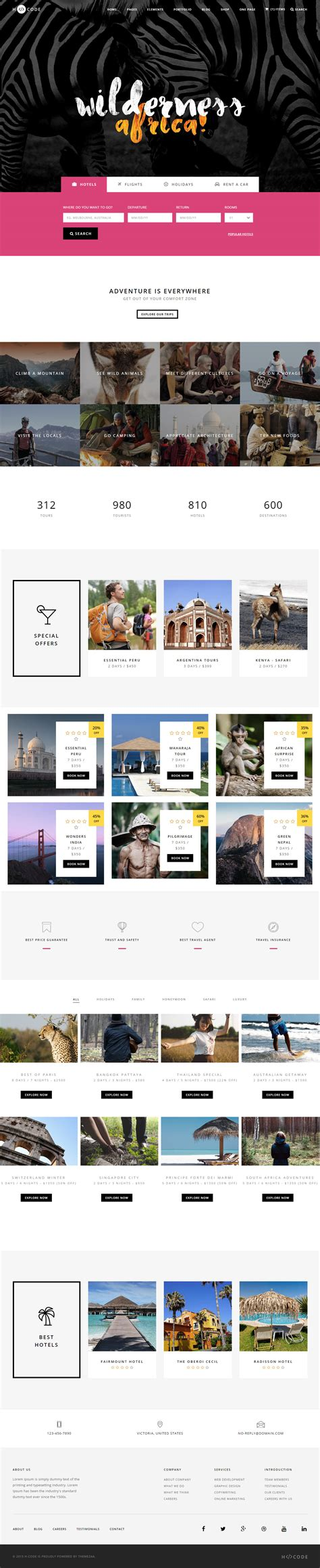 html5 travel templates 25 best travel html5 templates 2017 responsive miracle