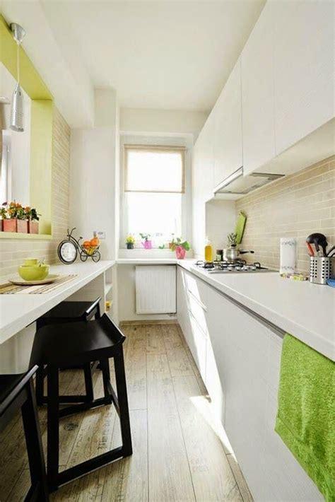 como decorar cocinas alargadas cocinas blancas cocina