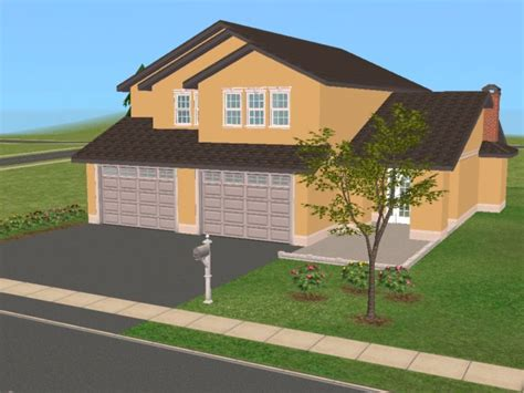 Sims 3 Family House Plans Mod The Sims 25 Maple 2 Story Family Home Based On Real Floor Plan