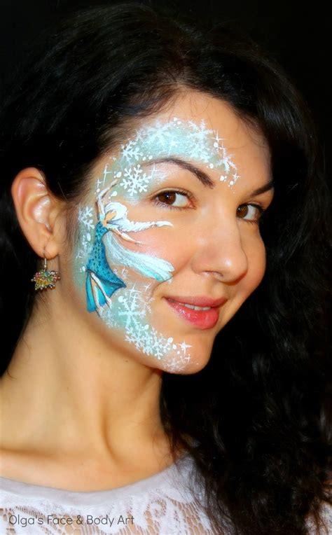 tutorial cara menggambar elsa frozen quot frozen quot elsa inspired face painting tutorial аквагрим