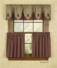 Country Curtains For Kitchen Cortina Estilo Country Ideal Para La Cocina Cortinas Dise 241 Os Curtains Desing