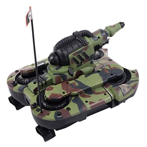 Rc Tank Land Battle Berkualitas costzon 2 4g 12ch hibious rc battle tank land and sea 4wd remote vehicle buy