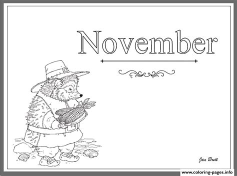 november month coloring page coloring months of the year november coloring pages printable