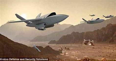 Drone Tempur pentagon bangun drone secepat jet tempur