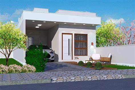 casa de planta de casa marab 225 projeto de casa pequena para
