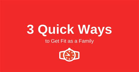 8 Ways To Get Your Family On The Fitness Wagon by 3 Ways To Get Fit As A Family