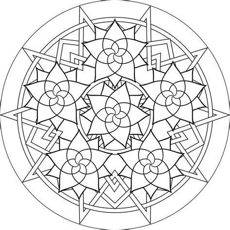 free mandala coloring pages free coloring pages of mandala de paste