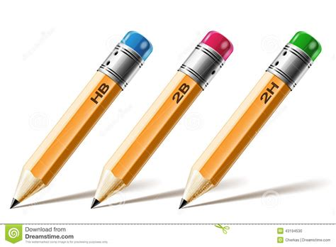 Colors Of Nature Pencil Kotak Pencsil Kulit pensil stock vector image 43194530