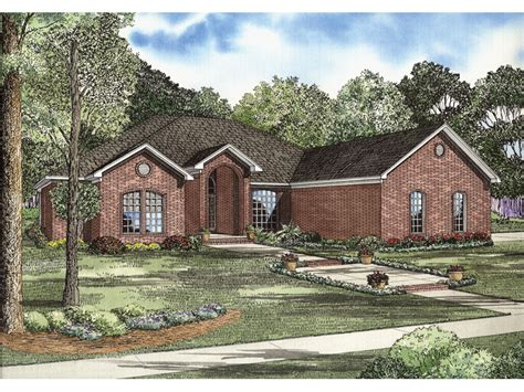 brick ranch house gilbert brick ranch home plan 055d 0739 house plans and more