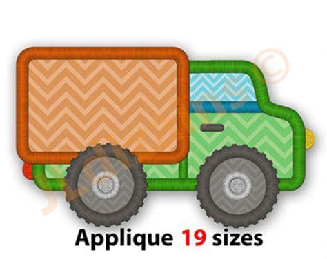 Pumpkin Dump Truck Applique Design by Pumpkin Dump Truck Applique From Katelynskreatives On Etsy