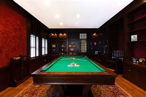 Interior Billiards Room Billiard Room Table Pool Balls Pool Table Space