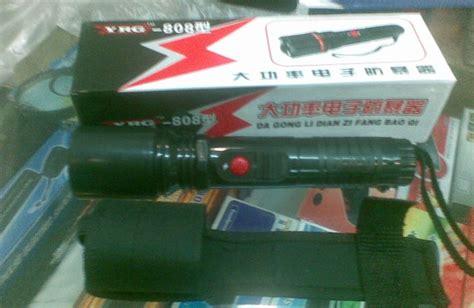 Stungun Baton Tw09 stun gun green laser papper spray knife collection