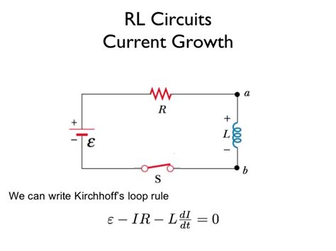kirchhoff s for inductor kirchhoff s current inductor 28 images a circuit with an inductor homework lib rc and rl