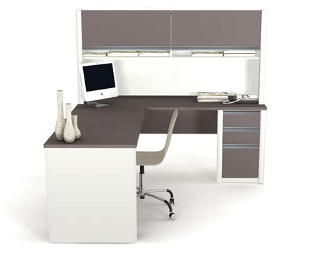 computer desk cappuccino l shaped corner desk i 7032 2 i