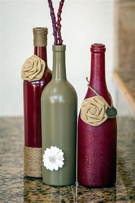 wine bottle crafts 40 cool wine bottles craft ideas wine bottle crafts