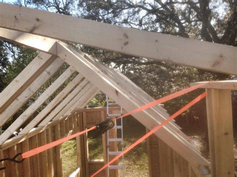 How To Roof A House by Tiny House Roof Framing Choo Choo Tiny House