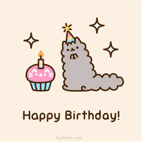 imagenes de happy birthday tumblr happy birthday pusheen gif wifflegif