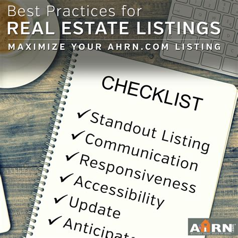 Best Mba Programs For Real Estate Development by Best Practices For Real Estate Listings Ahrn The