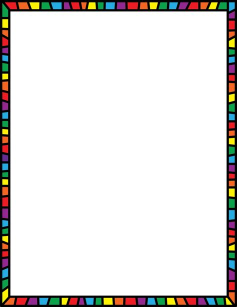 Clipart Page Borders Free math borders clip clipartion