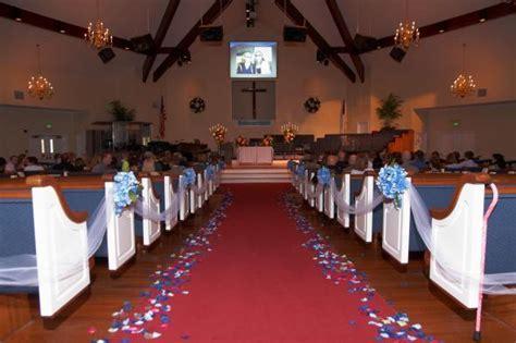 Church/Aisle Decorations   Weddingbee Photo Gallery