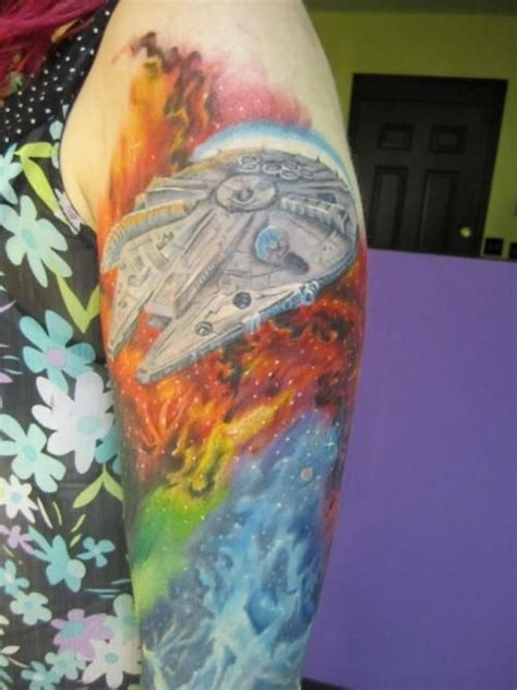 millenium tattoo 78 best images about millennium falcon on