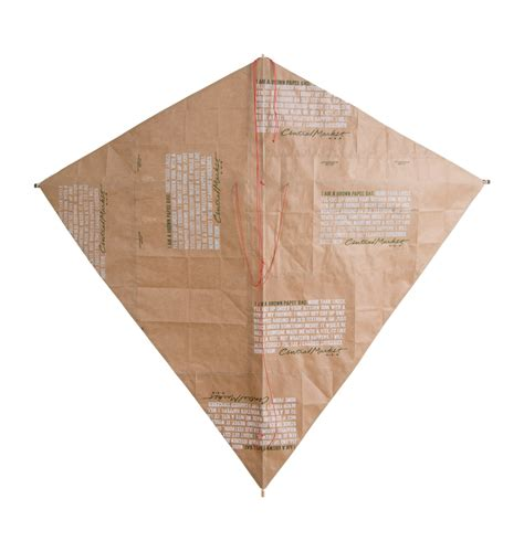 How To Make A Paper Bag Kite - stuart allen paper bag kites