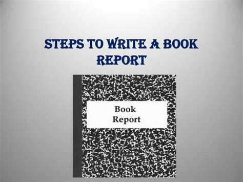 book report powerpoint presentation ppt book report