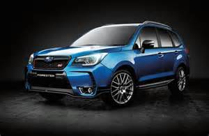 Subaru Forester Ts Sti 2016 Subaru Forester Ts Sti On Sale In Australia From