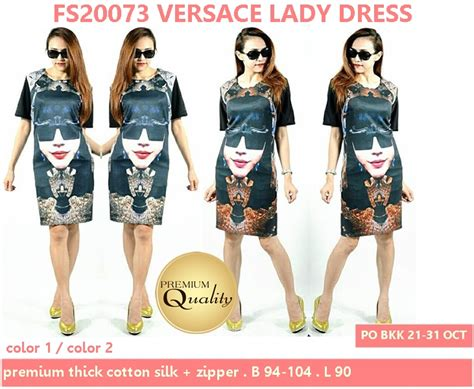 Harga Versace Dress versace dress supplier baju bangkok korea dan