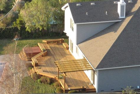 how to build a patio how to build a deck step by step thrifty outdoors manthrifty outdoors outdoors