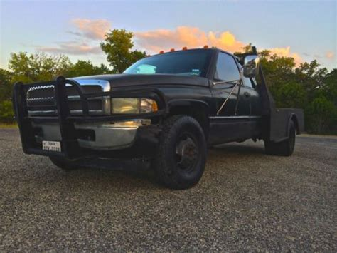 online auto repair manual 1996 dodge ram 3500 club parking system find used 1996 dodge 3500 slt dually 12 valve diesel with 5 speed manual transmission in boerne