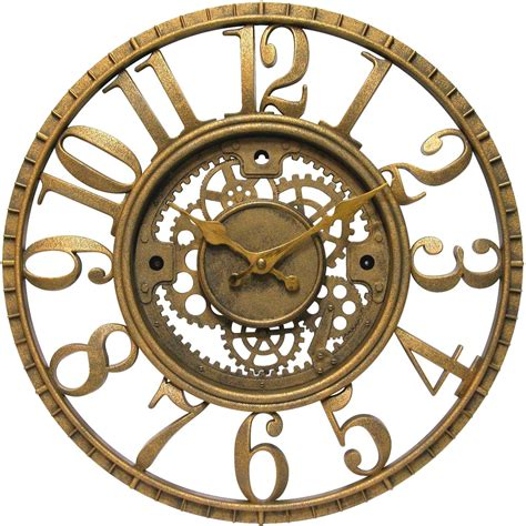decorative wall clock decorative gear clock in wall clocks