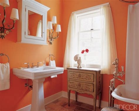orange bathrooms 43 bright and colorful bathroom design ideas digsdigs