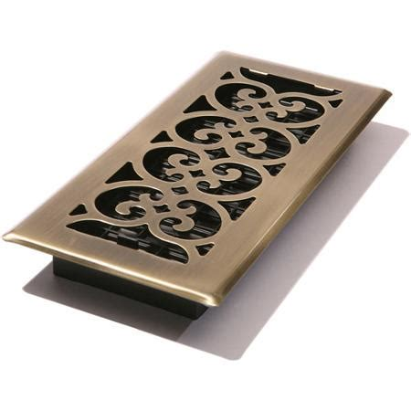 Decorative Floor Vents by Decor Grates Scroll Floor Register