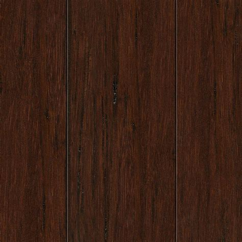 Scraped Strand Woven Bamboo Flooring by Home Legend Scraped Strand Woven Hazelnut 3 8 In T X