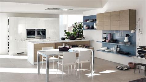 Tri Kitchen by Tri Color Kitchen Cabinets And Shelves Interior Design