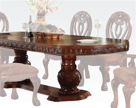 acme dining room furniture formal dining table quinlan by acme furniture ac60265